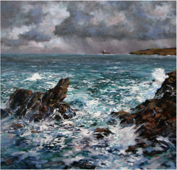 Brewing Storm, St. Ives Bay