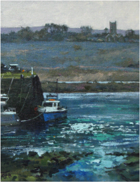 Moored in Hayle Harbour
