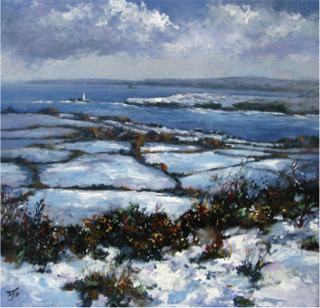 Touch of Winter, St. Ives Bay