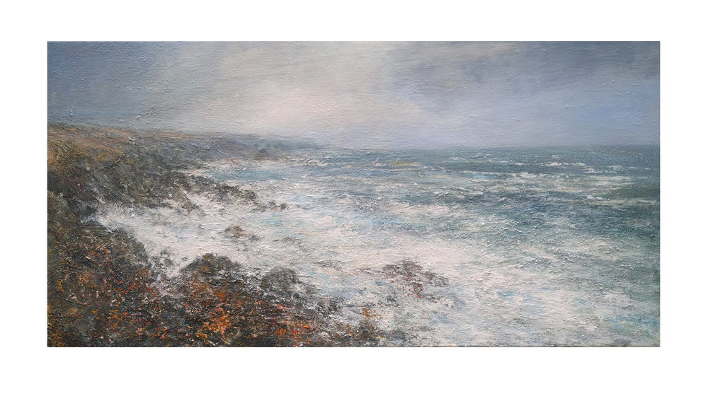 120cm x 60cm Spring Tide Carn Naum Point Zennor Head £1550.JPG