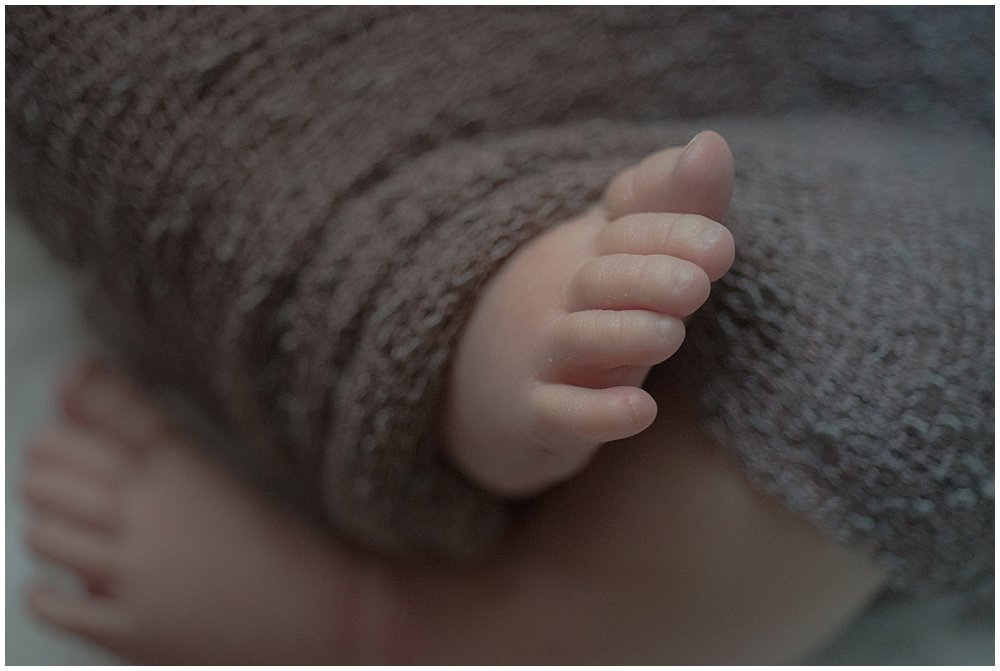 indoor lifestyle newborn photography Franklin Pennsylvania
