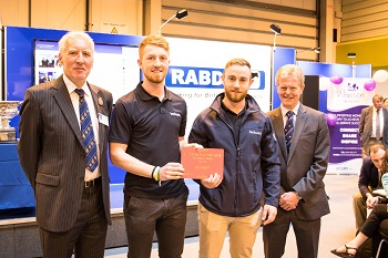 FRS Network Developments won the 2016 Prince Philip Award at this year's Livestock Event