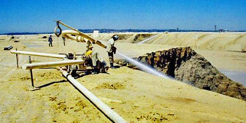 Hydro Mining -