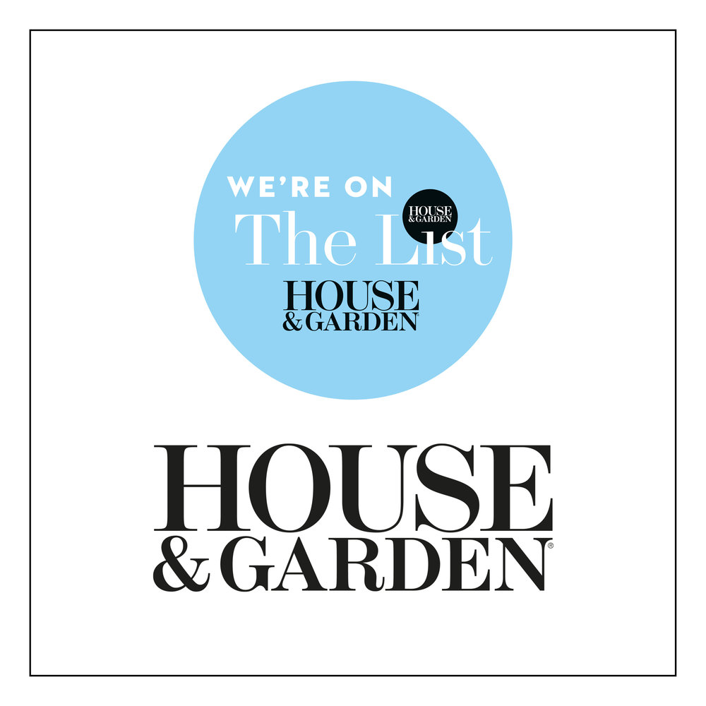 WOOLF are pleased to be included in The List, House & Garden.