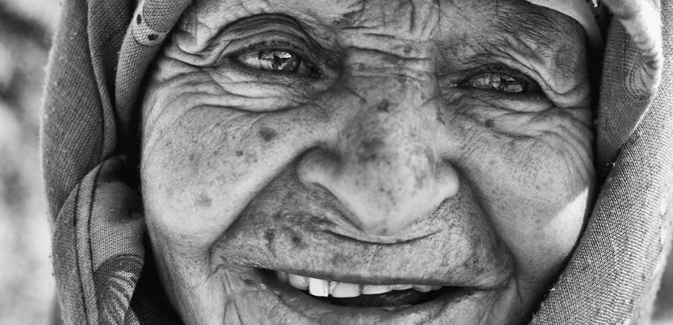 Портрет Фатимы ©Nikos Aliagas