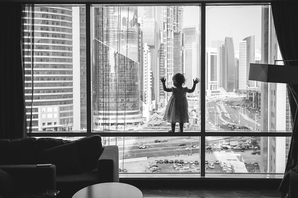 "Снаружи ©Trisha Clancy, Катар (3 место в категории ""Силуэт"", первая половина конкурса)"