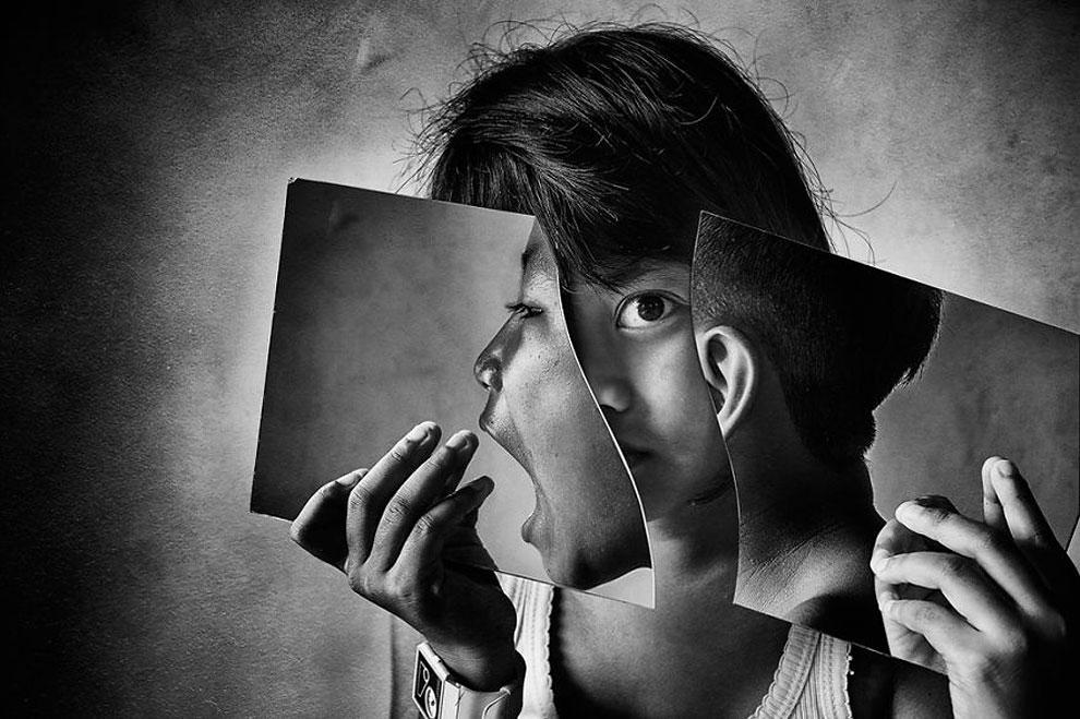"""Глаз-лицо ©Andi Abdul Halil, Индонезия(1 место в категории """"Конуептуальное фото и фотоманипуляция"""", первая половина конкурса)"""