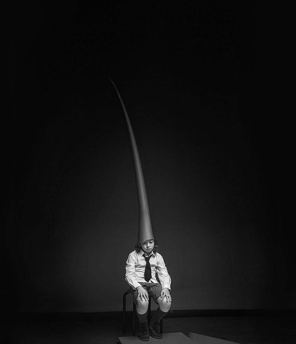 """Необыкновенный ребёнок Assaf Matarasso, Франция(1 место в категории """"Конуептуальное фото и фотоманипуляция"""", вторая половина конкурса)"""