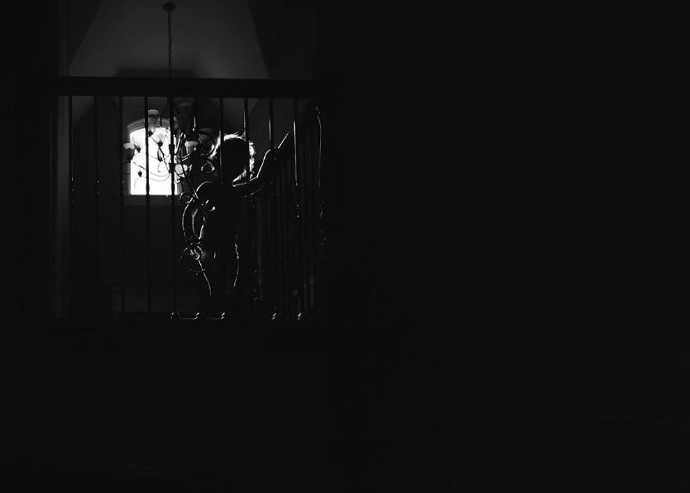 """Контурный свет ©Karen Osdieck, США (2 место в категории """"Силуэт"""", первая половина конкурса)"""