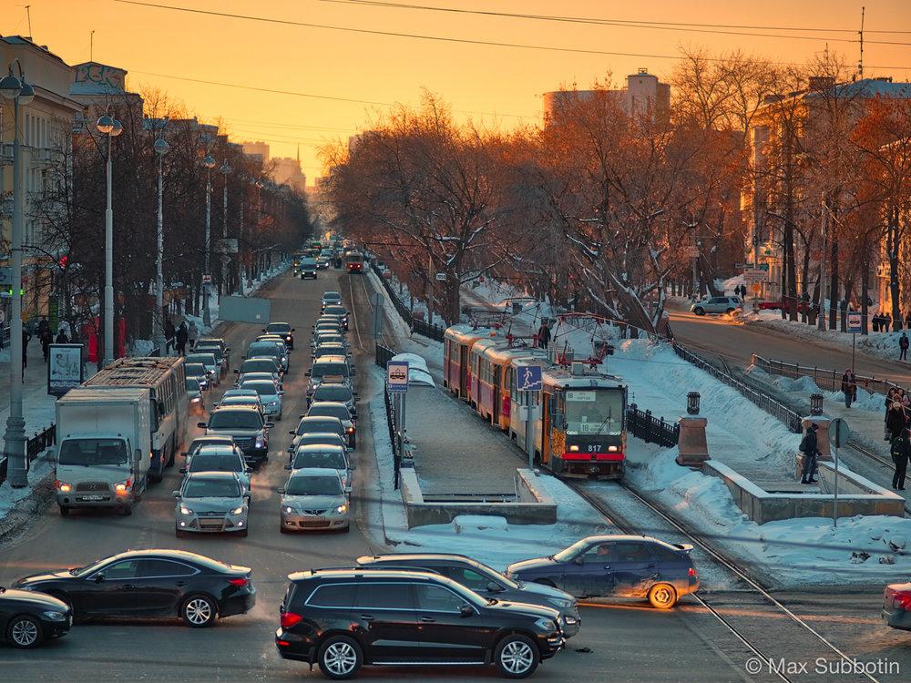 Проспект Ленина, г. Екатеринбург