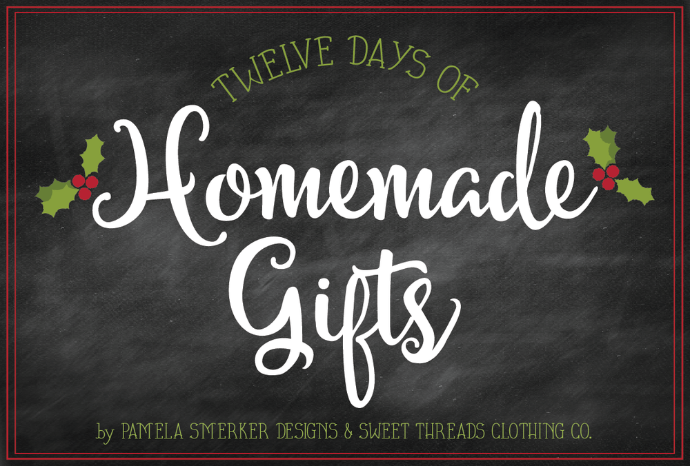 12 Days of Homemade Gifts {Christmas In a Jar With FREE Printable} with Pamela Smerker Designs & Sweet Threads Clothing