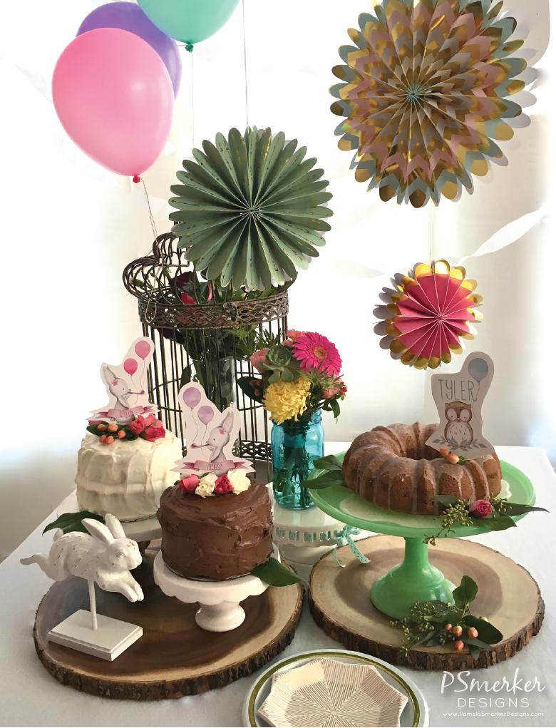 Winter Woodland Birthday Party For Three by Pamela Smerker Designs
