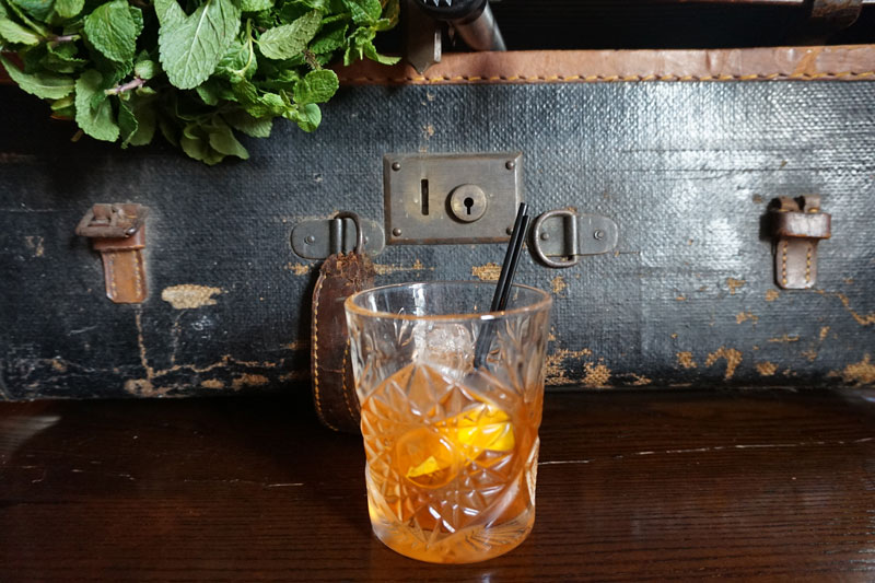 Barrel Aged Orange Negroni