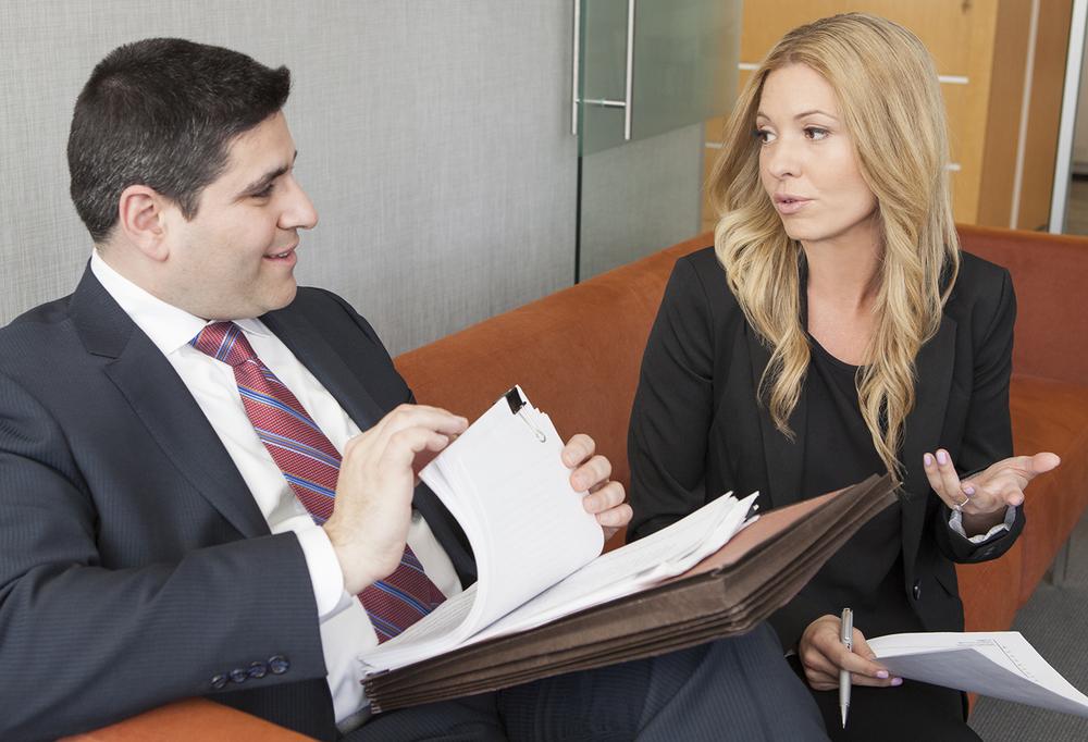 Senior Partner Jeremy A. Lieberman with Partner Jennifer Pafiti