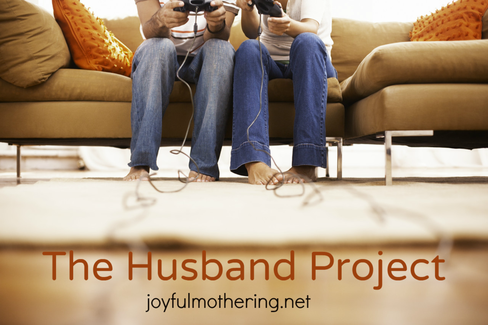 The Husband Project graphic