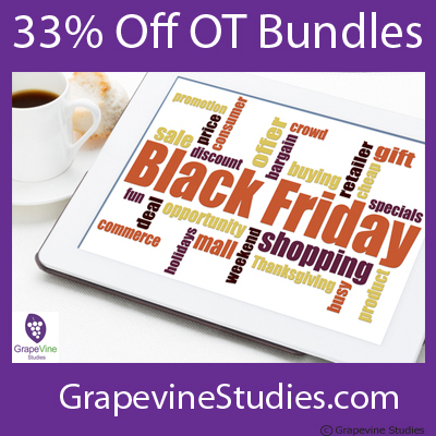 Grapevine Studies Black Friday Sale