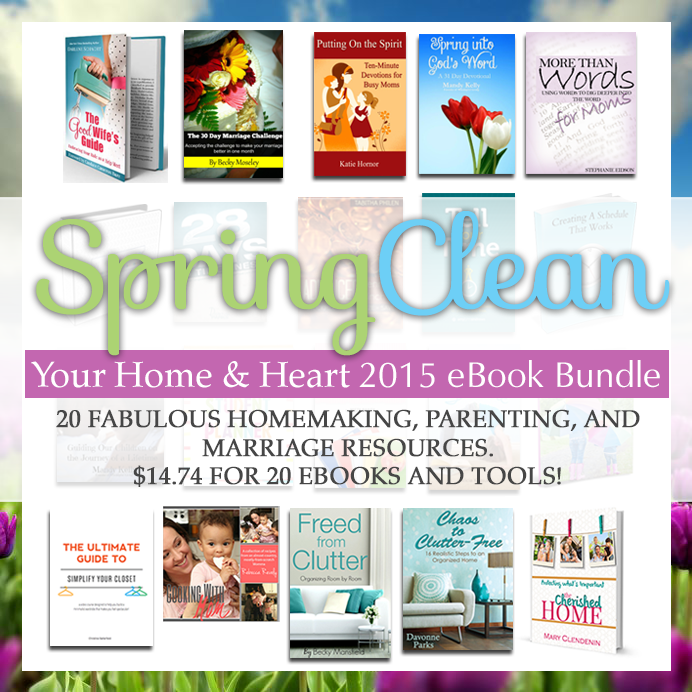 Spring Clean Bundle All books with notes