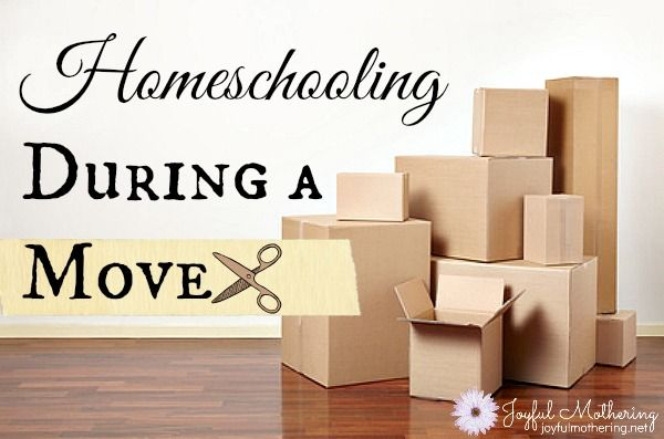 Moving doesn't mean you have to stop all of life. Sometimes the best things for children to transition is to keep things as normal as possible. Here's how we homeschooled through our move.