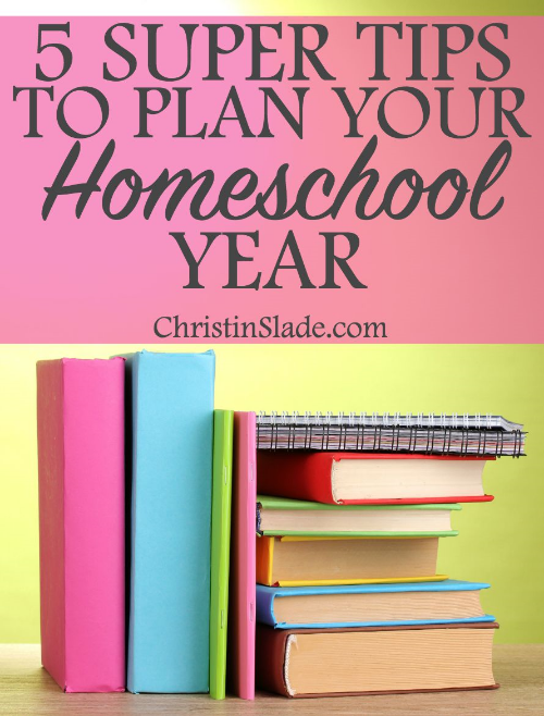 There are 5 timeless tips that help homeschoolers plan their days year after year. Don't underestimate the basics and check out the awesome tools to help you with your planning.