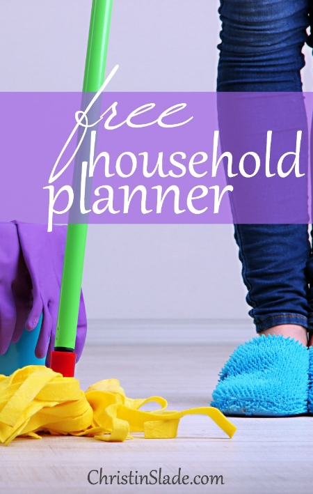 Are you looking for a cleaning schedule? How about a FREE one that you can print out each week and check off as you go?