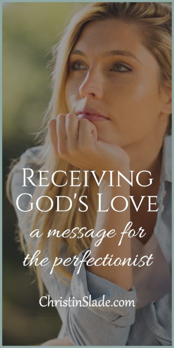 Do you struggle with loving yourself and who you are? How can you receive God's love?