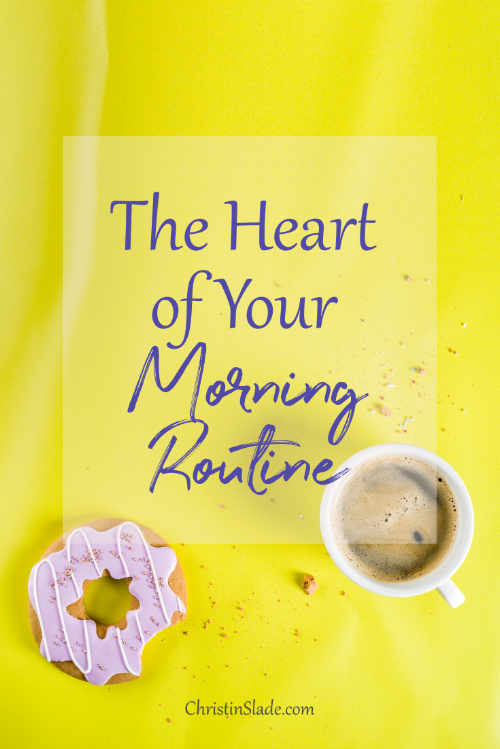 Even if you aren't a morning person, how you approach your mornings will make a huge difference in how the rest of your day flows not just from a productivity standpoint but from a mental and emotional place as well--for you and your family.