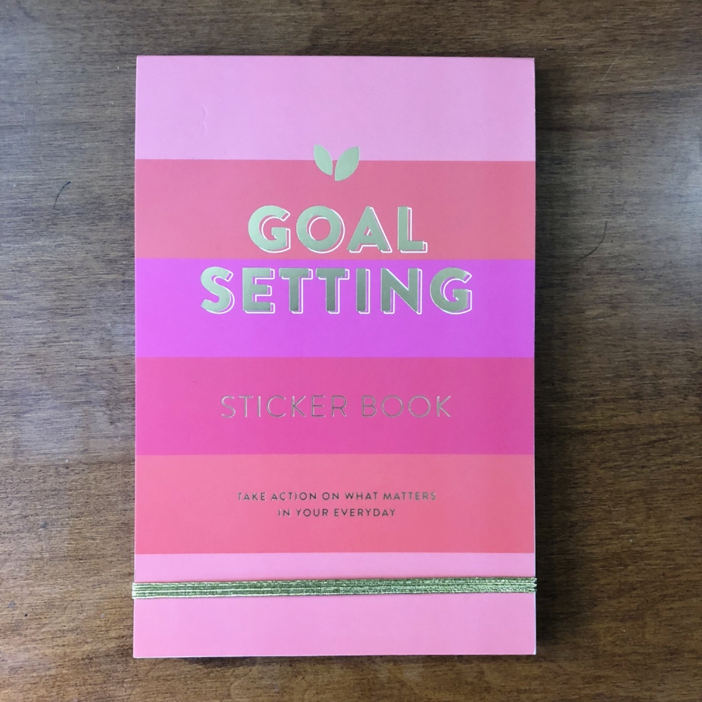 Goal Setting Sticker Book