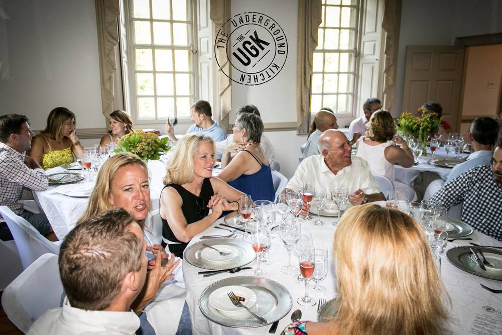Seven Springs is the perfect venue for local food events and farm to table dinners.