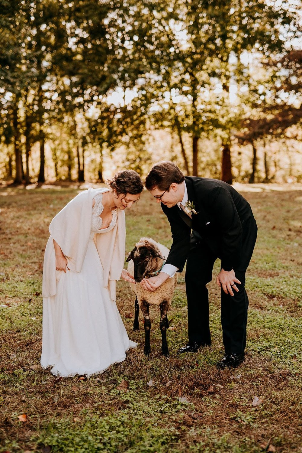 """""""I also cant stress enough how beautiful this place is, and the heritage livestock and other farm animals add to the charm. Highly recommend getting married here!"""" - -Kelly, Married 10.27.2018 