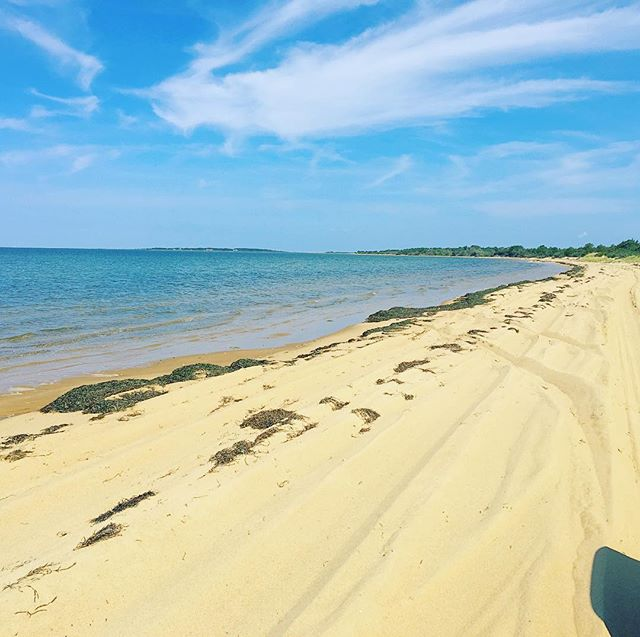Beach cruisin' #MV #Chappy