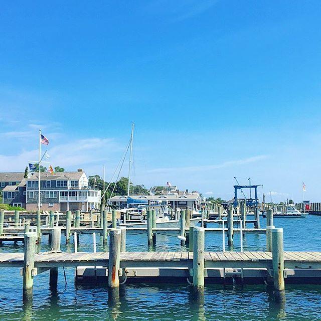 View from the Chappy ferry ⚓️ #ChappyFerry #Edgartown #MV #EnjoyMV #MarthasVineyard