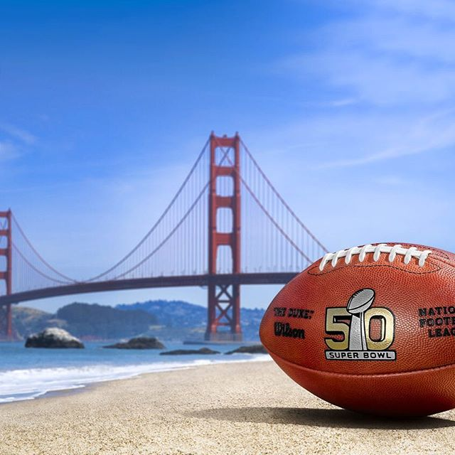 #patriots fan at heart but a #broncos fan today!! 📸: @nfl 🏈 #superbowl #nfl #sanfrancisco #superbowl50 #football