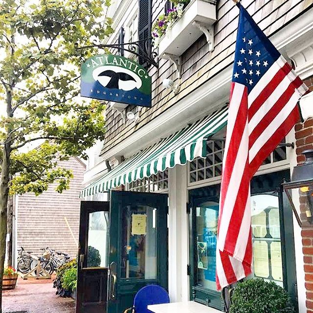 Looking forward to dinners at The Atlantic again 😋 @atlanticedgartown #MarthasVineyard #Edgartown #TheEnjoyCO #MV