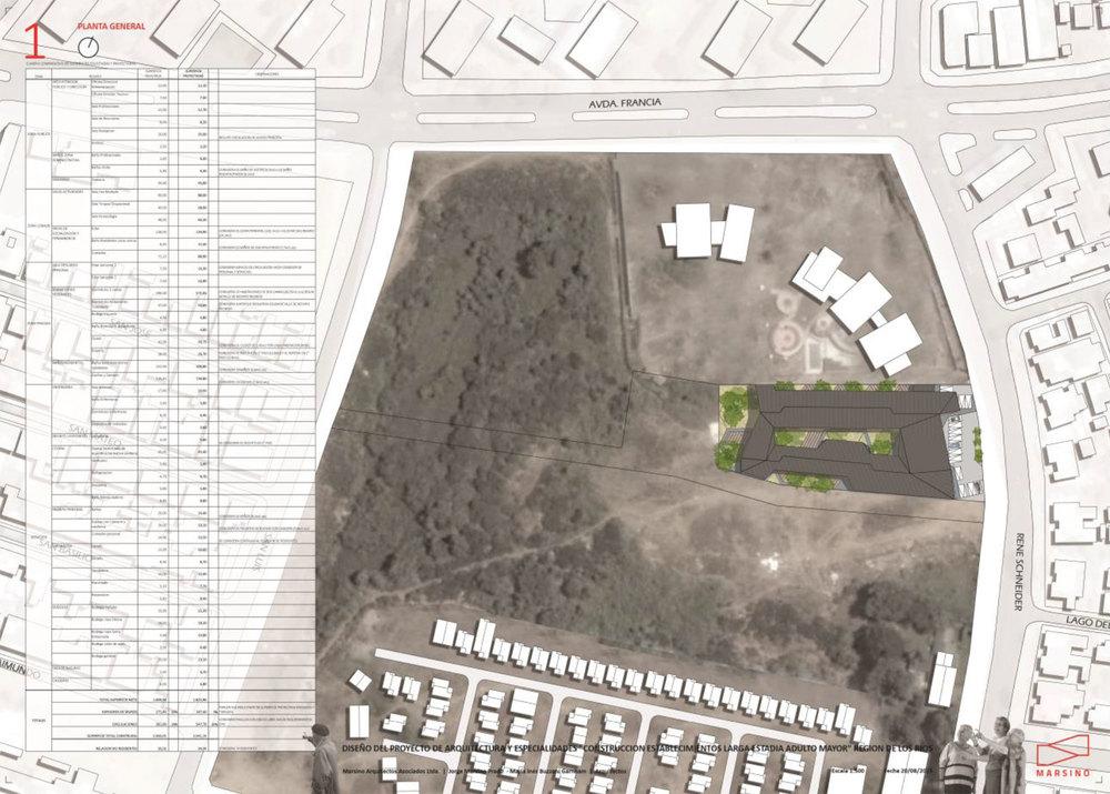 Fig. 03:Planta de emplazamiento de la propuesta