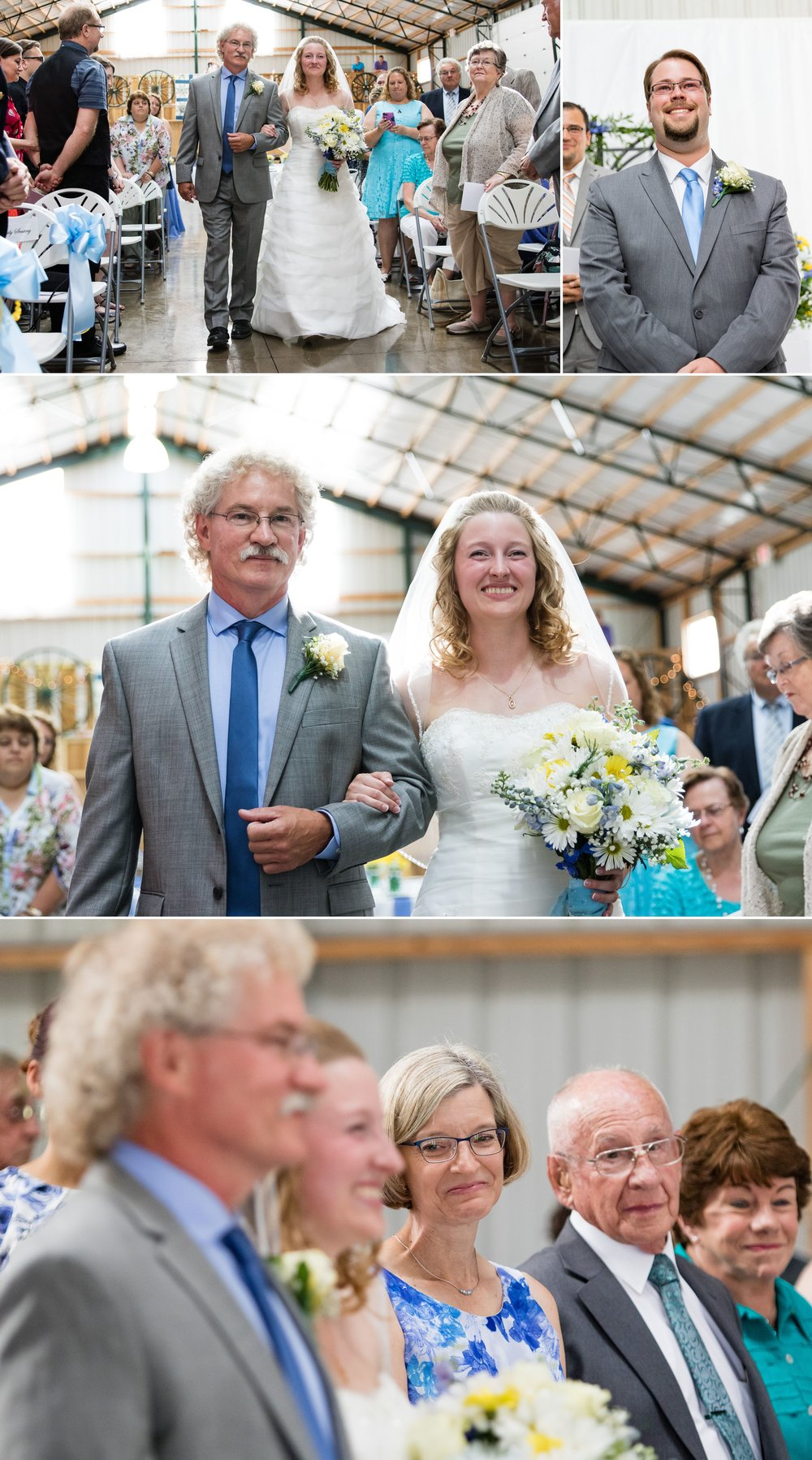 Ostrander barn wedding