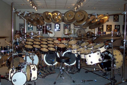 NOT Kevin Medeiros's drums.