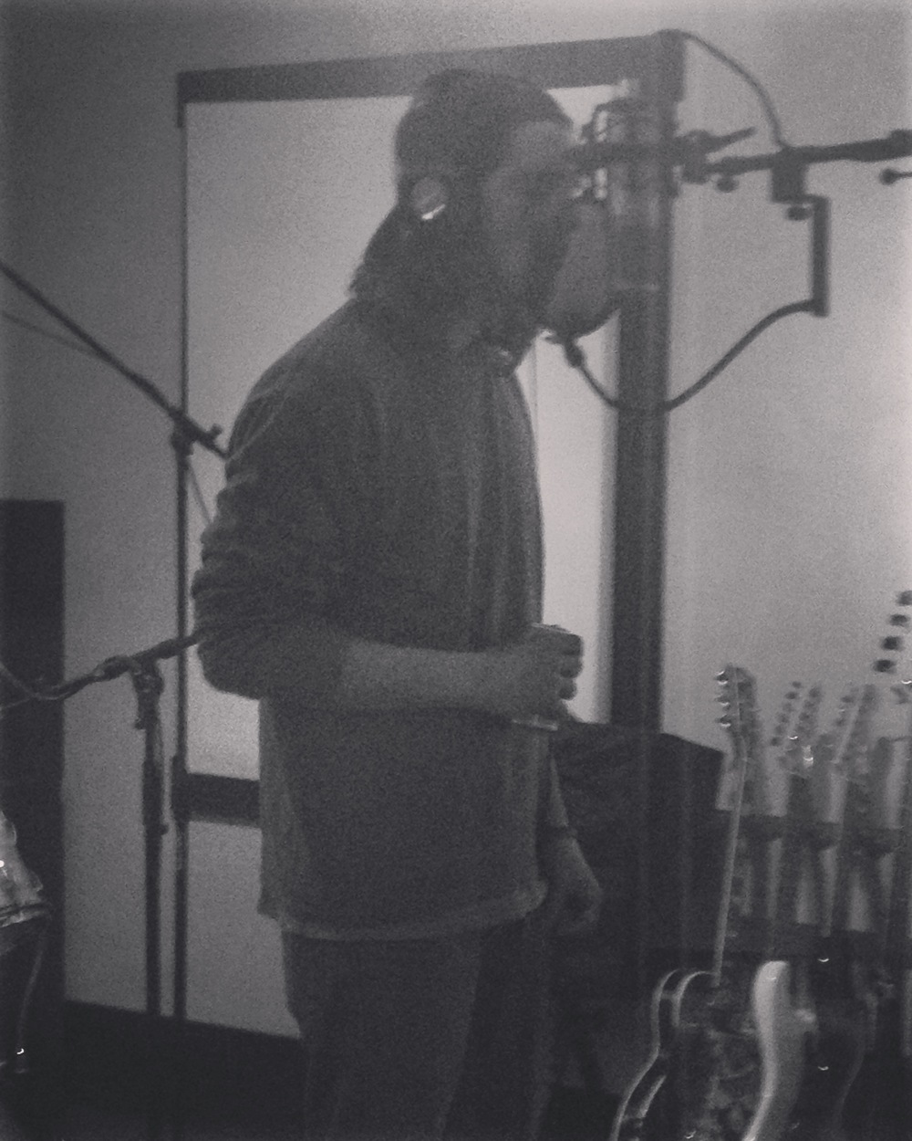 Kyle tracking vocals