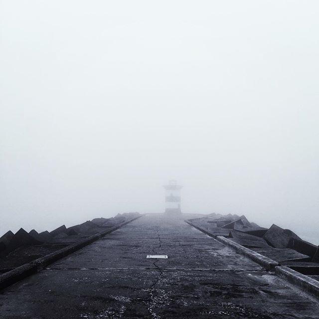 It's misty.