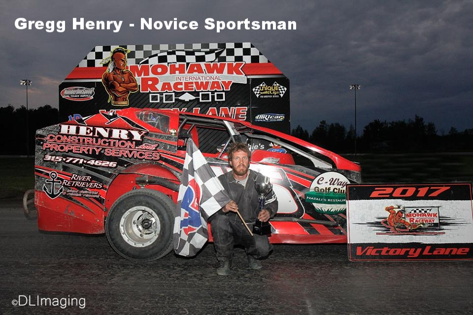 Gregg Henry - Novice Sportsman