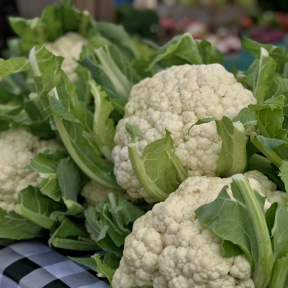 BROCCOLI & CAULIFLOWER -