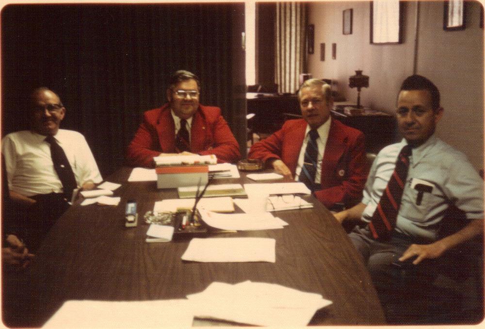 A 70s sales team