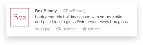 What if Beauty Box wanted to reach a specific audience? Create new voices for the brand!