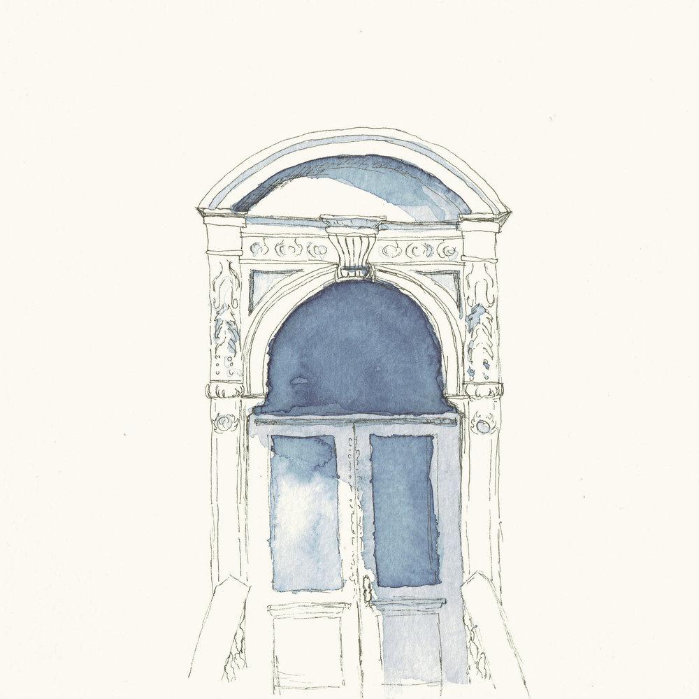 Brownstone Doorway
