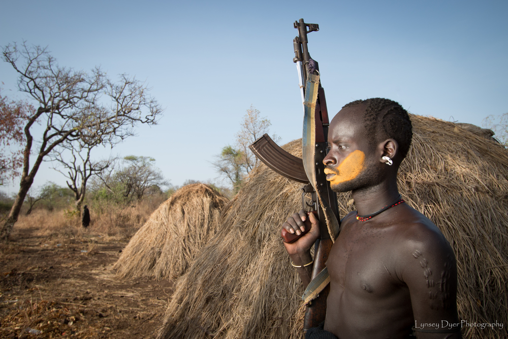 17. The Mursi Tribe