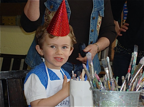 Mill Valley Preschool Party