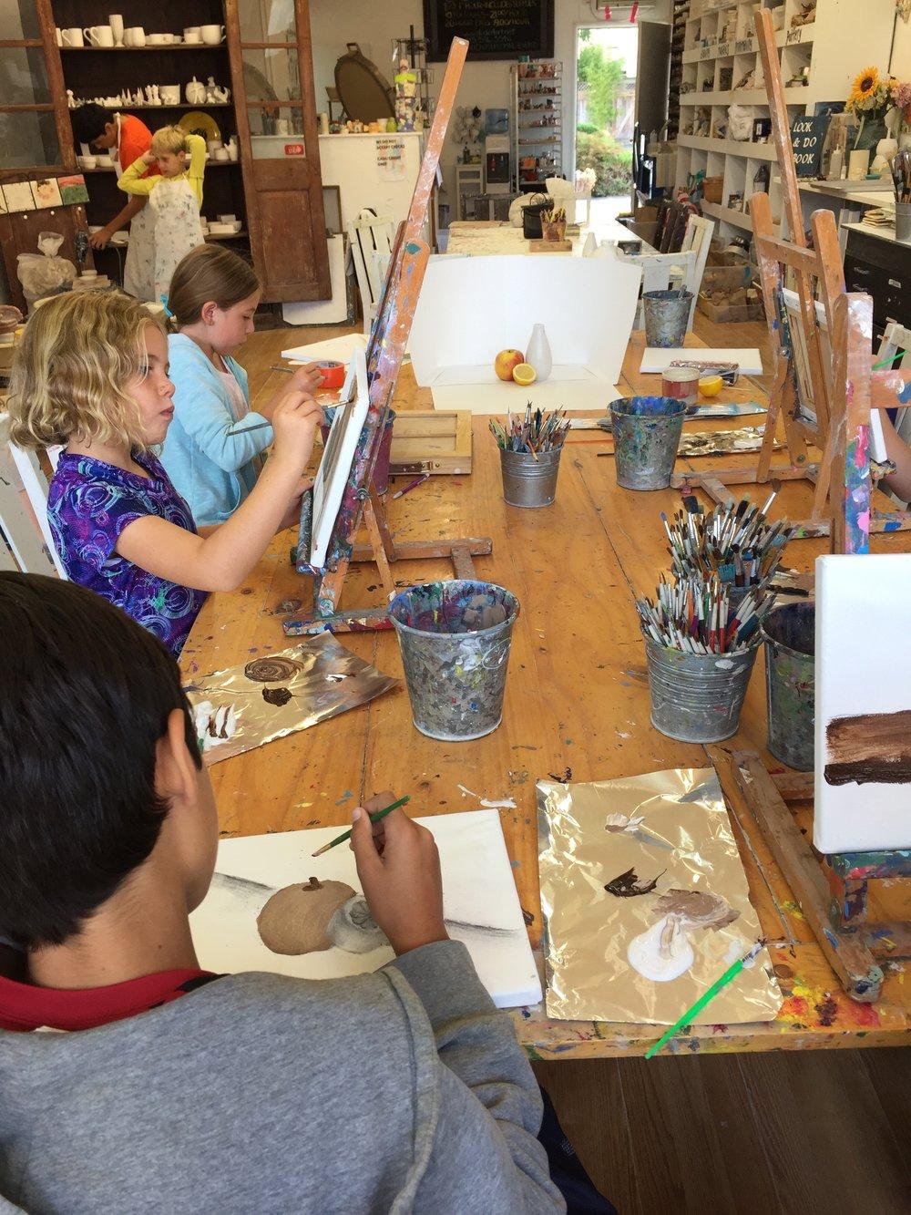 art class for grades 1-3