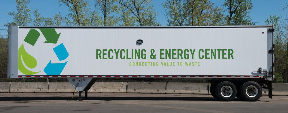 Recycling & Energy Center trailer