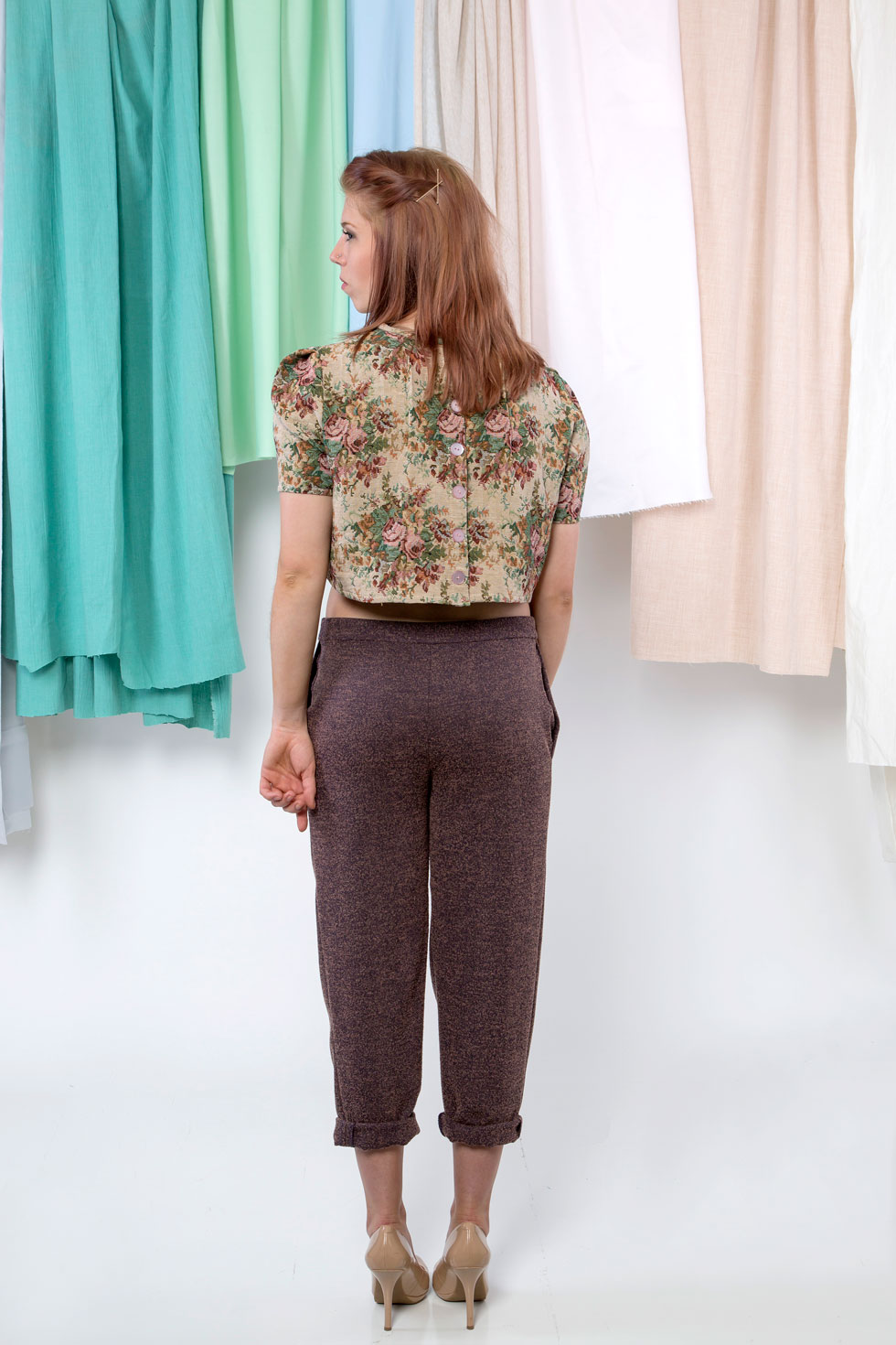 Cora Top & Violet Pants