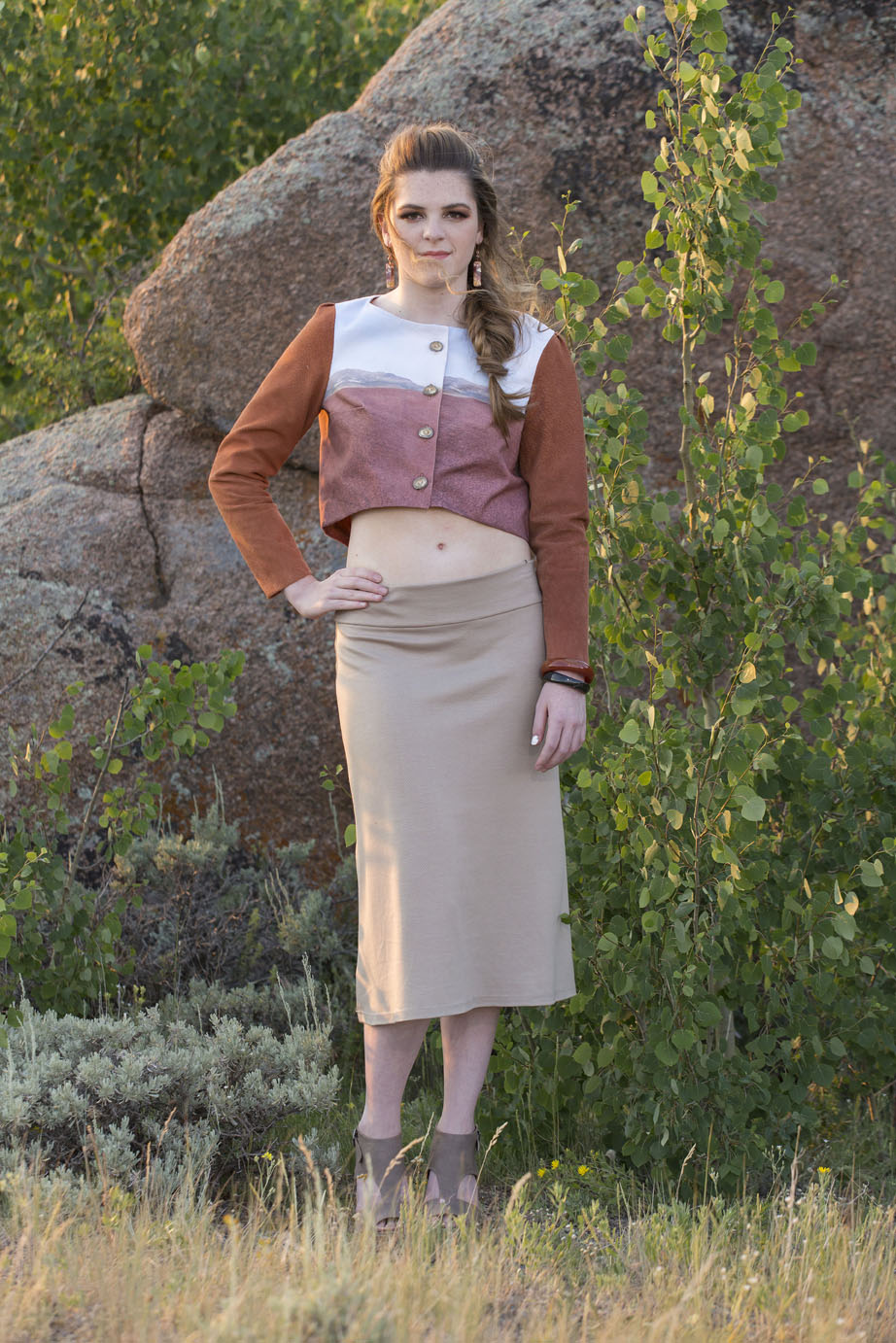 Painted Hills Jacket & Wamsutter Skirt