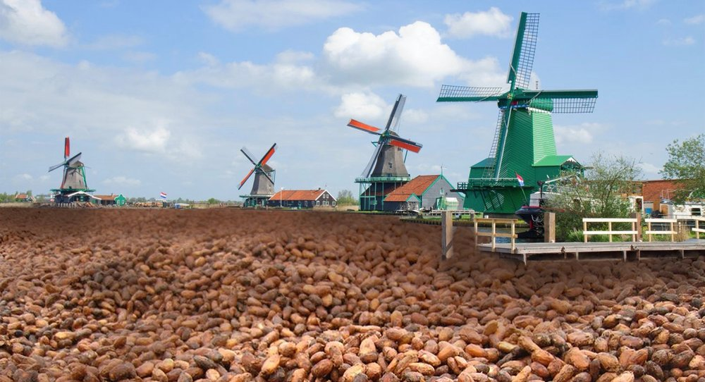 Vaar mee op de 'chocolate river'